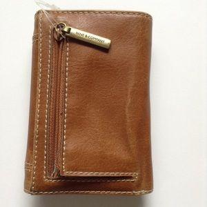 Nine & Company light brown wallet